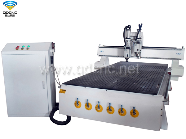 QD-1325-2AT Pneumatic ATC Wood CNC Router