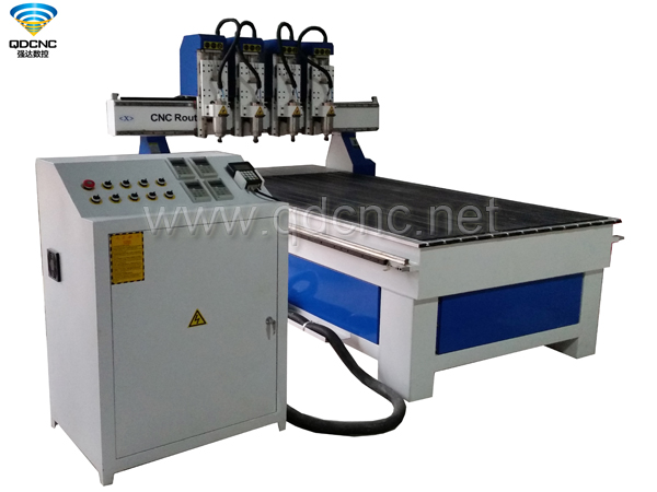 QD-1325-4 Multi Spindles CNC Router