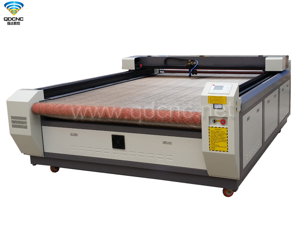 QD-C1620/QD-C1625/QD-C1630 Fabric Laser Cutting Machine(working width 1600mm)