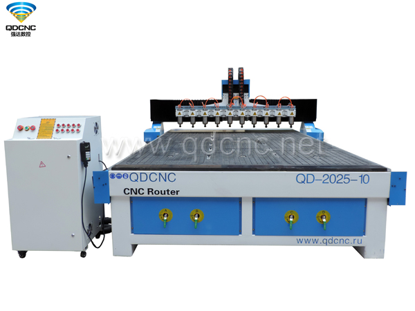 QD-2025-10 Multi Spindles CNC Router