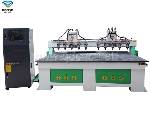 QD-2025-2H10 Multi Spindles CNC Router