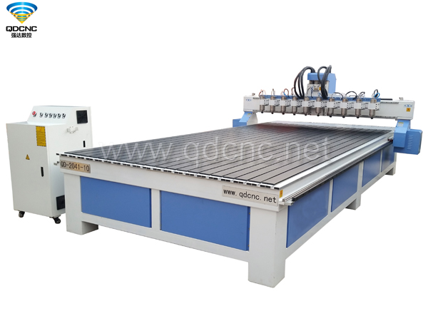 QD-2040-10 Multi Spindles CNC Router